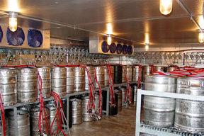 Cooler Concepts Beer Shelving
