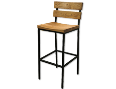 OW Seating Wood Barstool